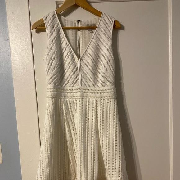 J.Crew white dress size 4.